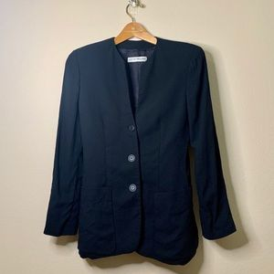 Armani Wool Navy Blazer